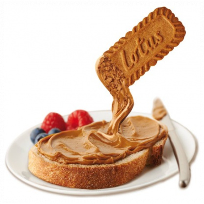 Biscoff Spread on bread